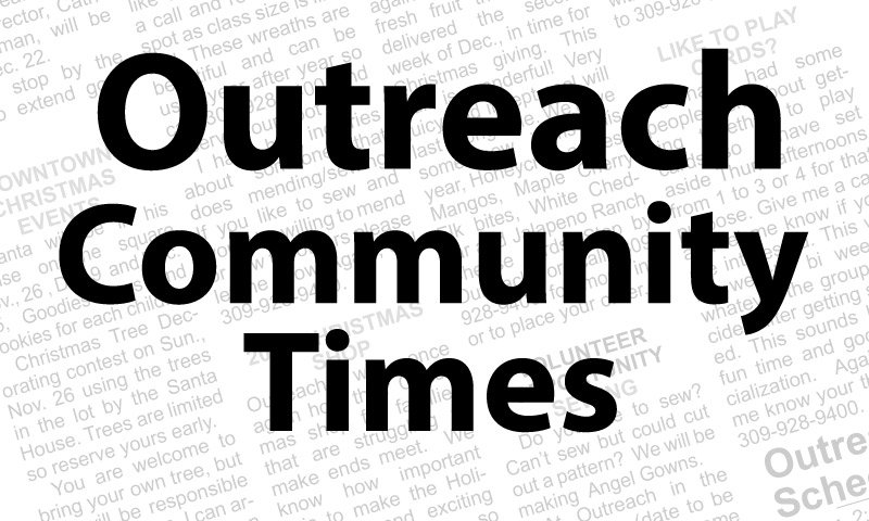 Outreach Times – November